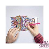 Diamond Painting Lampe Illusion 3D Hibou_