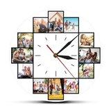 Horloge personnalisée avec ses propres photos 001_