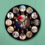 Horloge personnalisée avec ses propres photos 004_