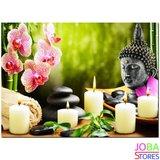 Diamond Painting Buddha Kaarsen 40x30cm_