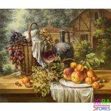 Diamond Painting Fruit & Wijn 30x40cm_