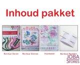 Borduur Pakket Baby Roze 14CT Voorbedrukt (20x25cm)_