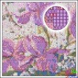 Diamond Painting Bloemen met bijtje 40x50cm_