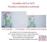 Borduur Pakket Bloem 002 14CT Voorbedrukt (17x17cm)_
