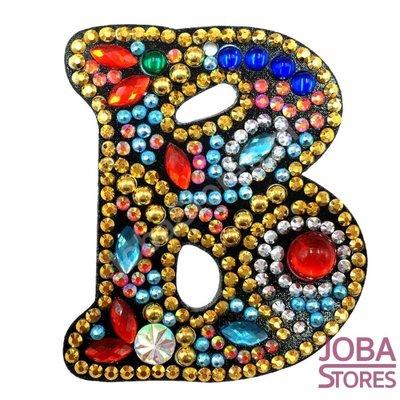 Diamond Painting Sleutelhanger Alfabet Letter B