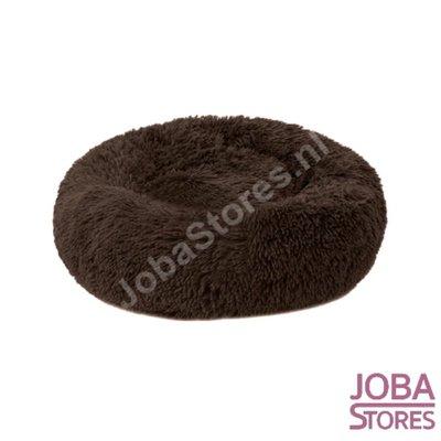 OP=OP Honden/Katten Mand Donut Donker Bruin 40cm (tot 2,5kg)
