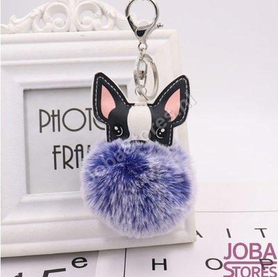 OP=OP Pom Pom Sleutelhanger Hond Blauw