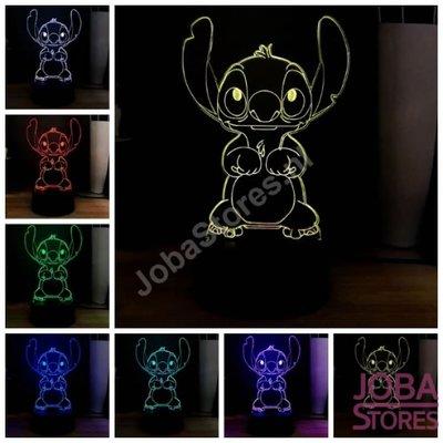 OP=OP 3D Illusie Lamp Stitch (7 kleuren instelbaar)