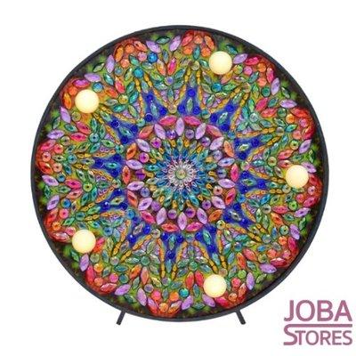 OP=OP Diamond Painting Lamp Mandala 02
