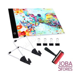 Diamond Painting A4 Lightpad Dimbaar Pro
