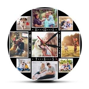 Horloge personnalisée avec ses propres photos 003