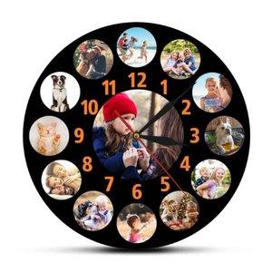 Horloge personnalisée avec ses propres photos 004