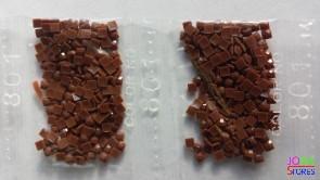 Nummer 801 vierkante steentjes (klein)