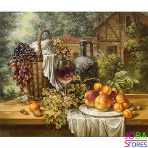 Diamond Painting Fruit & Wijn 30x40cm