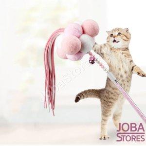 Katten Speelgoed Hengel PomPom Roze